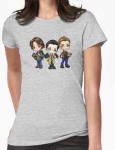 Team Free Will - Chibi Style Womens Fitted T-Shirt