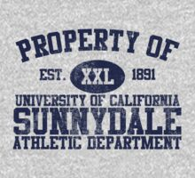 UC Sunnydale Athletic Department One Piece - Short Sleeve