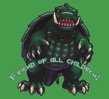 Gamera Chibi by Julia Lichty