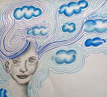 Her head's in the clouds by corrasion