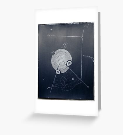 Idéés Blanches - White Ideas #5 Greeting Card