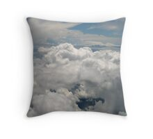 Floating Amongst the Clouds Throw Pillow