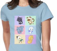 Cute Kittens with Wings! Womens Fitted T-Shirt