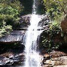 Minniehaha Falls - Katoomba, NSW by Martyn Baker | Martyn Baker Photography