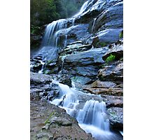 Bridal Veil Falls, Blue Mountains, NSW Photographic Print
