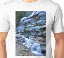 Bridal Veil Falls, Blue Mountains, NSW Unisex T-Shirt