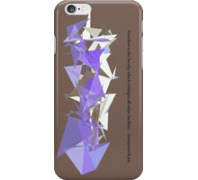 Immanuel Kant - Freedom is intelligence iPhone Case/Skin
