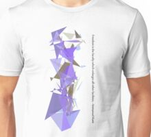 Immanuel Kant - Freedom is intelligence Unisex T-Shirt