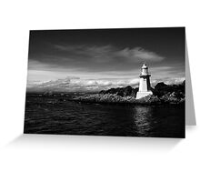 Table Head Lighthouse, Tasmania Greeting Card