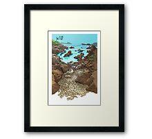 Cala  en Monteferro Framed Print