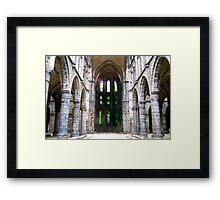 Abbaye Viller-la-Ville Framed Print