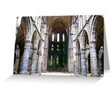 Abbaye Viller-la-Ville Greeting Card
