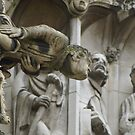 York Minster grotesques by BronReid