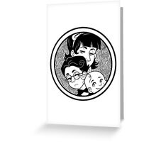 The Baudelaire Orphans Greeting Card