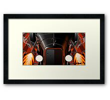 Tommy Gun '31 -  Chopped and cropped Framed Print