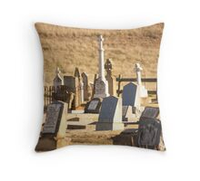Cemetary Bungendore Throw Pillow