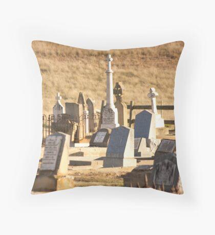 Cemetary Bungendore Throw Pillow