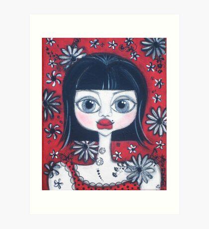 China Doll Dannii Art Print