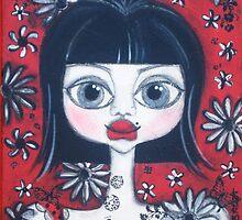 China Doll Dannii by Barbara Cannon  ART.. AKA Barbieville