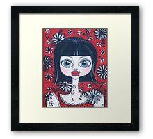 China Doll Dannii Framed Print