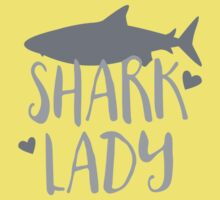 Shark Lady Kids Tee