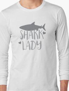 Shark Lady Long Sleeve T-Shirt