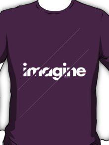 Imagine under stripes /// white version T-Shirt