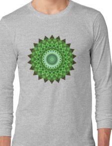 Pleasure Green Long Sleeve T-Shirt