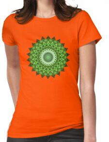Pleasure Green Womens Fitted T-Shirt