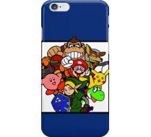Super Smash Bros 64 iPhone Case/Skin