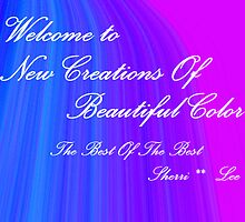 NEW CREATIONS WELCOME BANNER by Sherri     Nicholas
