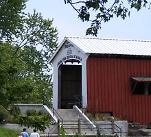 Bridgeton Covered Bridge Entrance by Marie Sharp