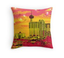 Inner City - Day Dreams Throw Pillow