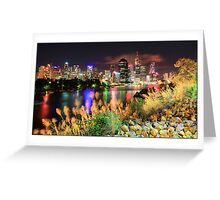 Brisbane City Beauty Greeting Card