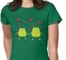 Frogs lovers Womens Fitted T-Shirt