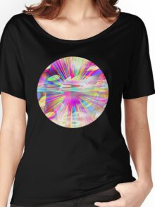 A Rainbow Explosion Women's Relaxed Fit T-Shirt