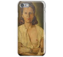 WOMAN AFTER WAKING UP. iPhone Case/Skin