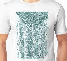 Woman in harmony with nature.  Unisex T-Shirt