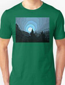 Mystic Blue Sunrise T-Shirt