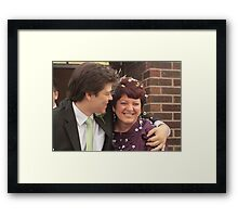 Mother and the Groom Framed Print
