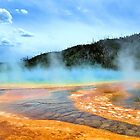 Grand Prismatic, YNP in July by dhmielowski