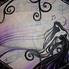 Purple Lady by Aimee Cozza