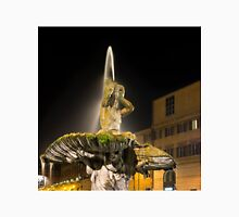 Rome's Fabulous Fountains – Triton Fountain at Night Unisex T-Shirt