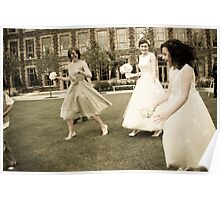Sprayed Dresses Poster