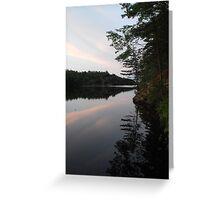 Long Lake, Apsley Ontario Canada Greeting Card