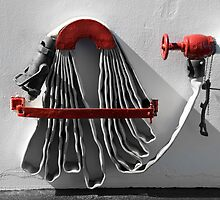 Fire hose by Jeffrey  Sinnock