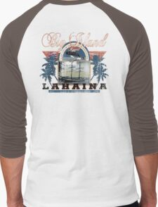 lahaina hawaii Men's Baseball ¾ T-Shirt