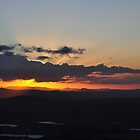 Sunset - Tamborine Mountain by Ken Jones