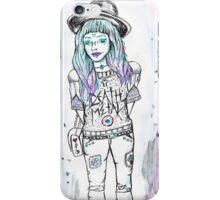Death Metal Maiden iPhone Case/Skin