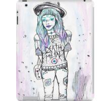 Death Metal Maiden iPad Case/Skin